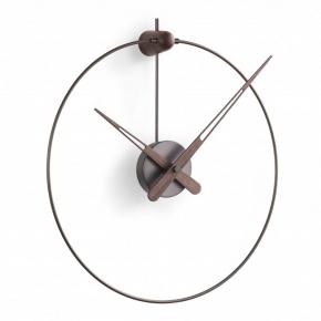 Часы. Nomon Micro Anda Graphite graphite-walnut часы Ø40-50 см