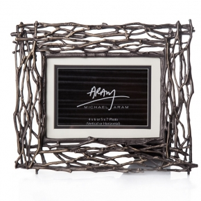Рамки для фотографий Deluxe. Michael Aram Twig Frame ветви коричневые рамка для фотографий
