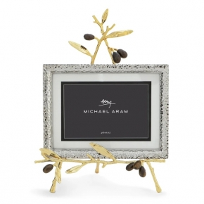 Рамки для фотографий Deluxe. Michael Aram Olive Branch Gold Easel Золотая оливковая ветвь рамка для фотографий