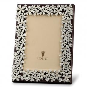 Рамки для фотографий Deluxe. L'Objet Platinum-Plated Swarovski® Crystal Garland Гирлянда платина рамка для фотографий 13х18 см