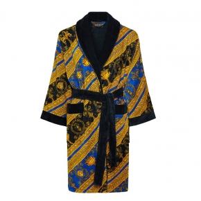 Халаты Одежда для бани и сауны Deluxe. Versace home collection I HEART ♡ BAROQUE халат махровый