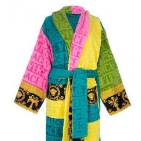 Халаты Одежда для бани и сауны Deluxe. Versace home collection Barocco and Robe халат махровый