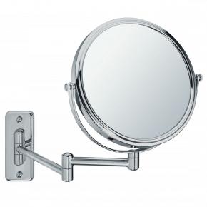 Зеркала косметические с подсветкой увеличением настенные настольные Зеркала с присосками. BEA Nicol косметическое зеркало двухстороннее с увеличением 1х1 и 1х5 настенное металл сатин
