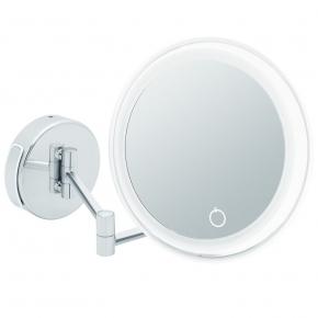 Зеркала косметические с подсветкой увеличением настенные настольные Зеркала с присосками. Siena зеркало косметическое настенное с увеличением х7 и подсветкой от батареек и кабеля
