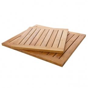Деревянные коврики и решётки для душа и ванной комнаты. Teak Mondo решётка для душа тиковая деревянная