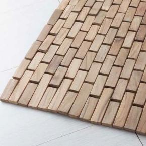 Деревянные коврики и решётки для душа и ванной комнаты. Teak Essence коврик для ванной комнаты тиковый деревянный