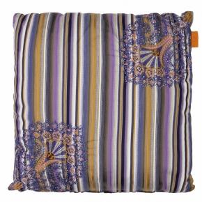 Декоративные подушки Deluxe. Подушка с узором Etro 45x45 см вышивка