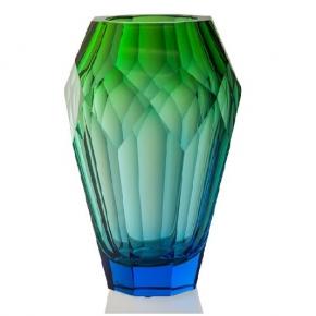 Вазы Deluxe. Хрустальная ваза 30,5 см Океан Moser