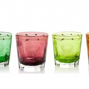 Посуда Столовые приборы Декор стола Deluxe. Набор из 4 стаканов для виски 370 мл Паула п/к Moser