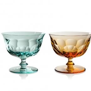 Посуда Столовые приборы Декор стола Deluxe. Набор из 2 креманок 380 мл Леди Гамильтон подарочная коробка Moser