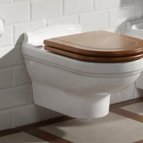 Сиденья для унитаза с крышкой. Villeroy&Boch Hommage деревянное сиденье с крышкой для унитаза