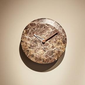 . Nomon Bari M WALNUT часы настенные мраморные Ø32 см
