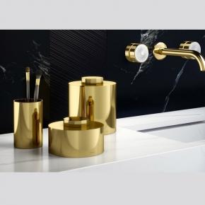 . Secret настольные аксессуары для ванной золотые