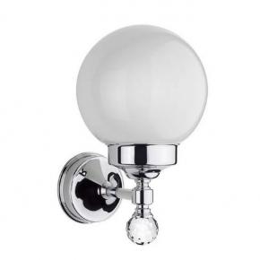 Аксессуары для ванной с кристаллами Swarovski. Светильник для ванной с кристаллами Madras Oriente Swarovski хром