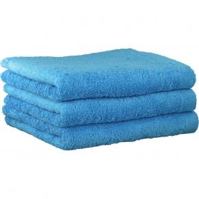 """Полотенца хлопковые.          Полотенце CAWO """"Life Style"""" 7007 Синий"""