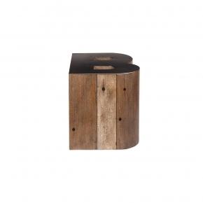 Журнальные Приставные Кофейные столы. Стол приставной Wooden Alphabet B