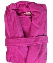 Халаты Одежда для бани и сауны Deluxe. Халат баный с сумочкой Positano Малиновый (S/M) от Blumarine Art.78504-78505
