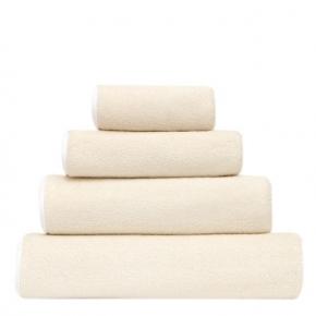 Полотенца хлопковые Deluxe. Полотенце гостевое (42х70), для рук (55х100), для душа (80х130) и банное (120x160) Adagio (Адажио) Жемчужный