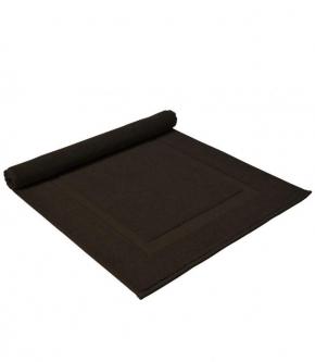 . Полотенце для ног (коврик) Brighton (Puf) (Брайтон) 50х80 Шоколад от Casual Avenue