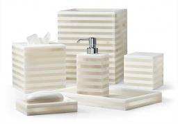 . Ligne натуральный камень Оникс настольные аксессуары для ванной