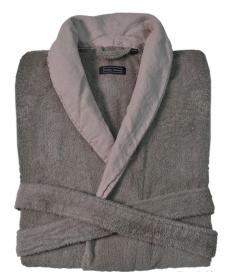Халаты Одежда для бани и сауны. Халат  HAMPTON (S/M; L/XL) дым-лиловый от Casual Avenue