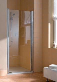 Душевые кабины Створки стеклянные Шторки для душа. Подвесная дверь Kermi Atea AT 1WR 900х1850