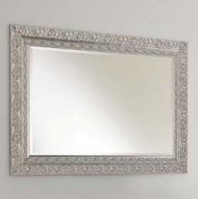 Зеркала для ванной. Eban Зеркало Selene 98х70 argento