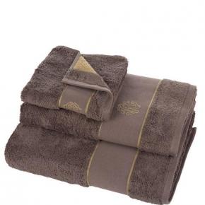 Полотенца хлопковые Deluxe. Комплект полотенец 5-ти предметный (для рук 40х60-2шт., тела 60х110-2шт. и банное 100х150-1шт.) Gold New (Голд Нью) Коричневый