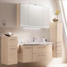 Мебель для ванной комнаты. Pelipal Cassca Комплект подвесной мебели 1210 мм, декор: бел.пиния