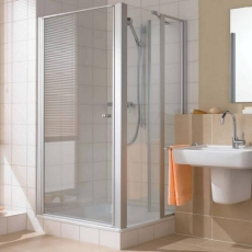 Душевые кабины Створки стеклянные Шторки для душа. Душевая дверь Kermi Ibiza 2000 I2 STW, 900x1850