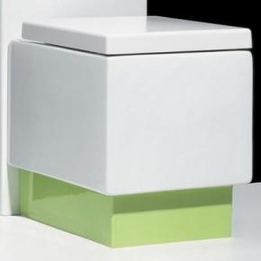 Унитазы Биде. Унитаз Althea Ceramica Design Plus 40062 комбинированный с подставкой