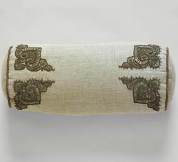Декоративные подушки Deluxe. Подушка Metal Embroidered Bolster