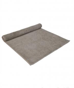. Полотенце для ног коврик CHESTER (MUSON) 70х140 дым от Casual Avenue