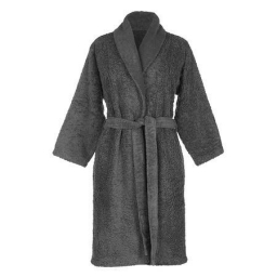 Халаты Одежда для бани и сауны. Халат Супер Пил. Серый