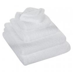 Полотенца хлопковые.         Полотенце Супер Пил белое