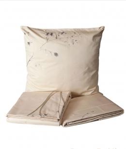 Постельное бельё Deluxe. Постельное белье Ветви двуспальное Слоновая кость от Catherine Denoual Maison