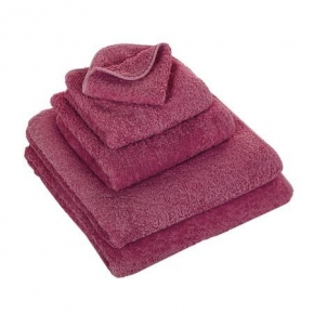 Полотенца хлопковые.         Полотенце Супер Пил ярко-розовое