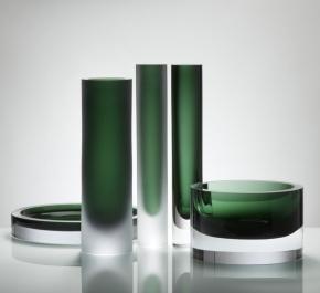 Вазы Deluxe. Ваза Valenta Green Clear