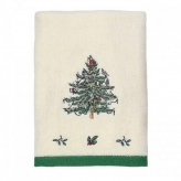 Полотенца хлопковые. Полотенце для рук Spode Christmas Tree 01523E2IVR