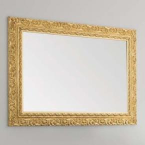 Зеркала для ванной. Eban Зеркало Aurora 98х70 oro