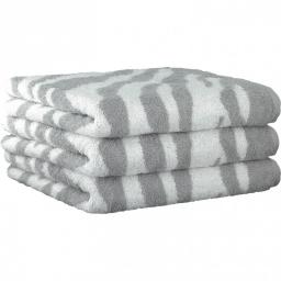 ".         Полотенце CAWO ""Zebra"" 562 Светло-серый"