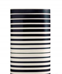 Вазы Deluxe. Ваза Jar-Bayadere (21х16х30) от Missoni черно-белая средняя