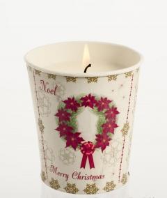 . Горшочек Рождественская Звезда, Корица, гвоздика, апельсин от Stone Glow Арт.3565