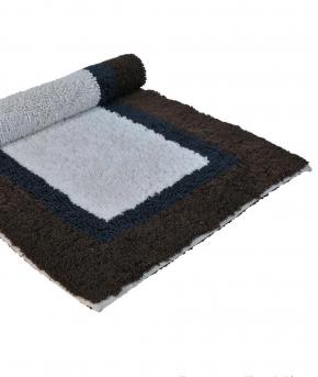 . Полотенце для ног (коврик) SOHO 55х90 синий от Casual Avenue