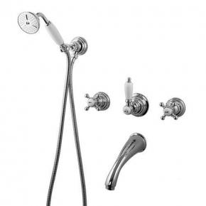 Смесители для душа. Gattoni Vivaldi 12050CO встроенный смеситель для ванны/душа