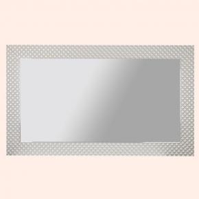 Зеркала для ванной. Eban Зеркало в раме SWAROWSKI 115x70см жемчужно-белый + стразы