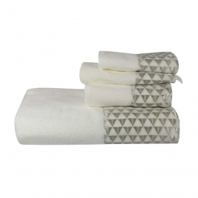 Полотенца хлопковые. Полотенце для рук Diamonte 036482WHT