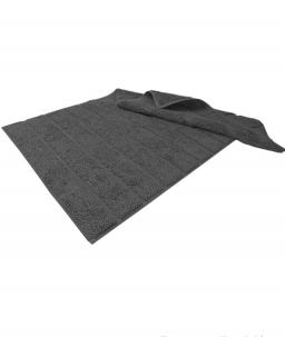 Коврики для ванной комнаты. Коврик Hanim (60×95; 80×120) Темно-серый от Hamam