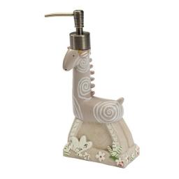 Аксессуары для детских ванных комнат. Дозатор для жидкого мыла Animal Crackers ANC59NAT