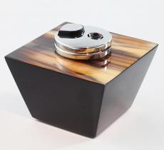 Пепельницы Зажигалки Deluxe. Зажигалка настольная (6,5 см) Horn & lacquer by Arcahorn Trapezium
